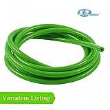 1 Meter Grün Silikon Unterdruckschlauch / Turbo Gummischlauch Luft-Wasser-Leitung [ 4mm ]