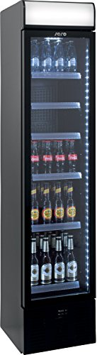 Saro Extra schmaler Kühlschrank mit Umluftventilator Modell DK