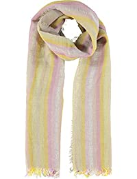 Diesel Spoly 22S Yellow And Pink Scarf