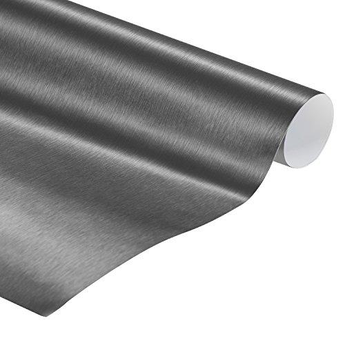 Preisvergleich Produktbild Car wrapping Folie Silber 3D Auto Klebefolie 152 cm x 2 Meter