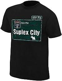 WWE - T-shirt - Manches Courtes - Homme Noir Noir