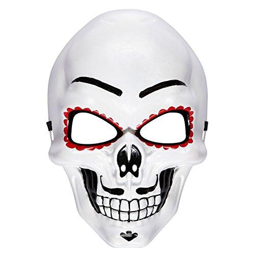 (WIDMANN 95707 Maske Dia de Los Muertos mens One Size)