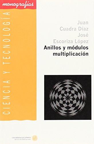Anillos y módulos multiplicación (Ciencia y Tecnología)
