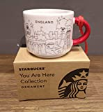 Starbucks You are Here England Ornament/Espresso-Tasse **2018 Christmas Edition** - 59 ml