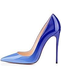 Colored suola-Kit base antiscivolo per scarpe da donna, con tacco Argento argento 5 Pairs