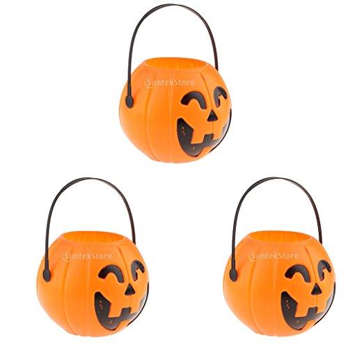 Förmig Halloween Thematisiert Süßigkeiteneimer, Accessoire für Feste Dekorierung ()