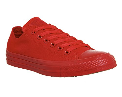 Converse All Star Ox Uomo Sneaker Grigio Casino Red Mono