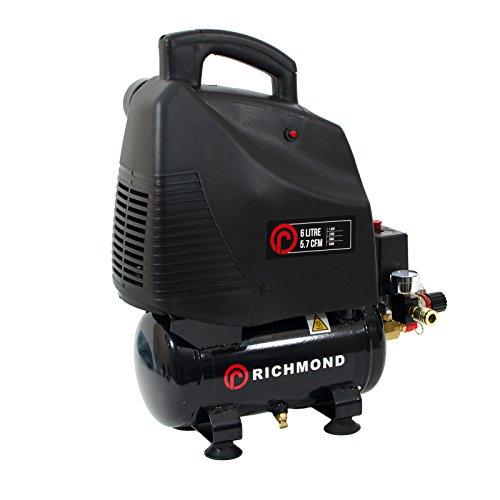 Compressore d'aria 6l 5,7 cfm, 1,5 hp, 1.1 kw, 230v, 115 psi, 6 litri