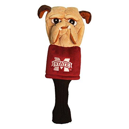 Team Golf NCAA Maskottchen Kopf Cover, Herren Unisex Damen, 24813, Mississippi State Bulldogs