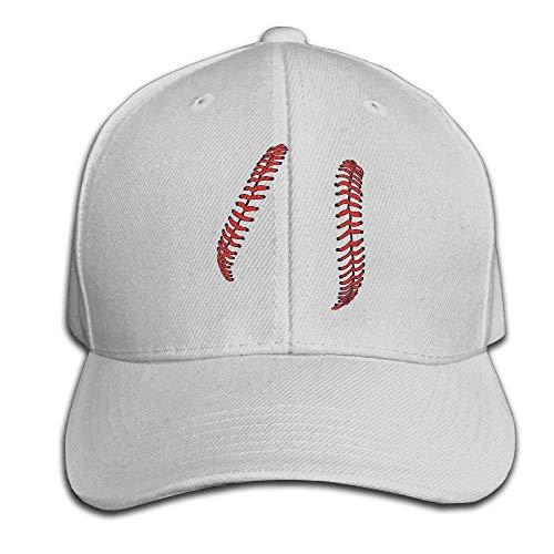 Helen vi Baseball Schnürsenkel Softball Schnürsenkel Mens Womens verstellbare Snapback Curved Visor Hat Baseball Cap Service Visor Hat