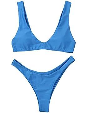 Costumi da Bagno Clode® Donne Bikini Impostato Costumi da bagno Flessione Sulle Braccia Imbottito Solido Reggiseno...