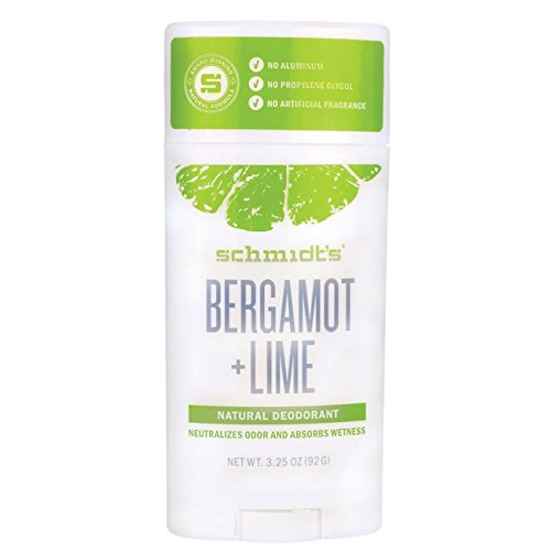 Déodorant Naturel en Stick - Bergamote et Citron Vert - Schmidt's