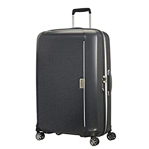 Samsonite Mixmesh – Spinner Large Equipaje de Mano 75 Centimeters 93 Gris (Graphite/Gunmetal)