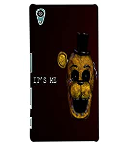 ColourCraft Funny and Scary Monkey Design Back Case Cover for SONY XPERIA Z5