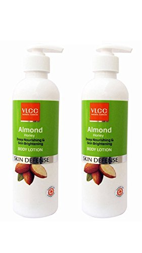 VLCC Almond Honey Body Lotion, 350ml (Pack Of 2)