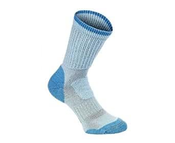 Brasher Hillwalker Womens Walking Socks - Light Blue - UK 7 - 8.5 (Large)