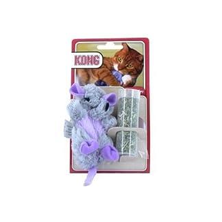 (2 pack) kong - catnip rat cat toy 16cm (2 Pack) Kong – Catnip Rat Cat Toy 16cm 415Nk4 2B6eTL