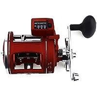 RLJJCS1163 Pesca de Alta Velocidad del Carrete Izquierdo y la Mano Correcta 12 Bola del Carro Carrete de la Pesca con Cargas de Profundidad múltiple Conde