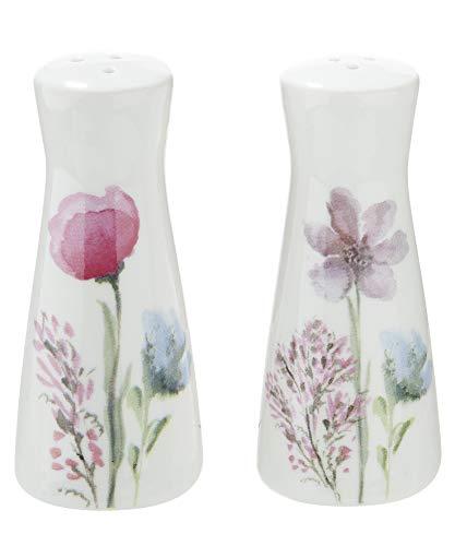 (G.i.l.d.e Salz- und Pfefferstreuer Sweet Blossom Bella Vita Höhe 8,70 cm)