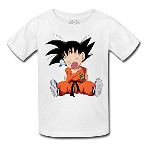 T-shirt enfant dragon ball dbz sangoku sleep goku dort