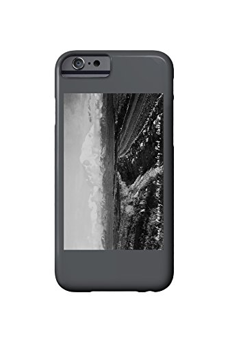 Alaska - Mt McKinley National Park View of the Mountain Photo (iPhone 6 Cell Phone Case, Slim Barely There) -
