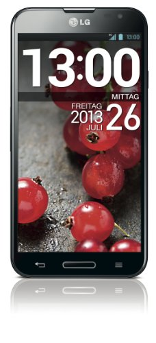 LG Optimus G Pro Smartphone (14 cm (5,5 Zoll) IPS-Touchscreen, 1,7GHz, Quad-Core, 2GB RAM, 13 Megapixel Kamera, Android 4.1) schwarz (G Lg Optimus Android)