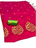 Diya Womens Sarees Origanal Sana Silk Saree With Blouse Piece