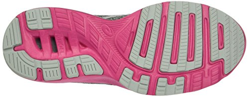 Asics Nitrofuze, Running Femme Gris (Midgrey/White/Sport Pink)