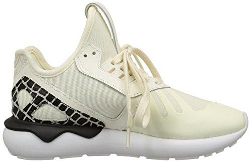 Adidas Tubular Runner, Baskets Donna Bianco (blanc (blanc Cassé / Blanc Cassé / Noyau Noir))