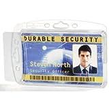 Durable Ausweishalter 2-fach 54x85mm VE=10 Stück transparent