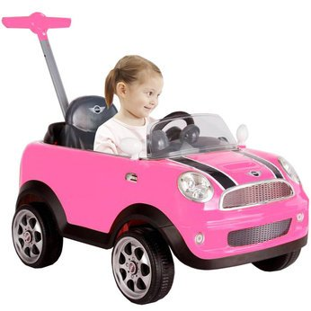 ultimate-mini-cooper-push-buggy-pink-cleva-edition-3dalarmd-bundle