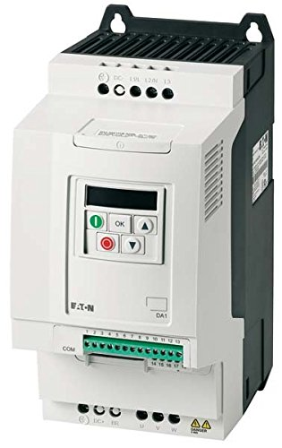 Eaton 169096 Frequenzumrichter, 3-/3-phasig 230 V, 18 A, 4 kW, Vektorsteuerung, EMV-Filter, Bremstransistor 4 Kw 18