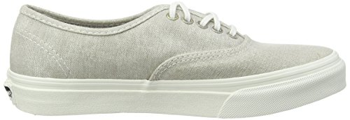 Vans U Authentic Slim Stripes, Baskets Basses Mixte Adulte Gris ((stripes) Wash