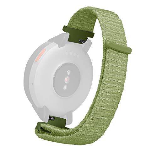 Knowin Uhrenarmband Ersatz Nylon Sport Loop Wrist Band Strap für Huami Amazfit Verge Watch Ersatzarmband Unisex Armband Leuchtband Kinder Jungen Herren Damen Ersatzband