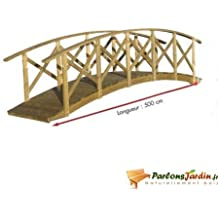Pont en bois Manhattan grand modèle
