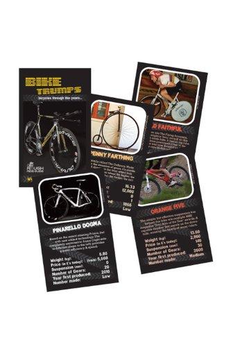Fahrrad Kartenspiel Bike Trumps 2 Quartett