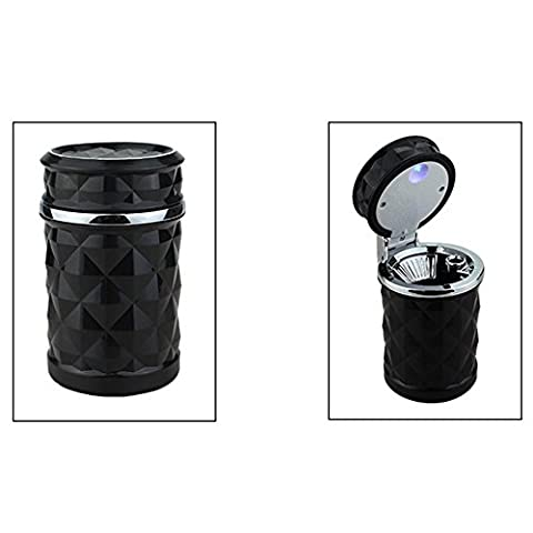 odeur de cigarette de voiture de retirer la Mini poubelle Tasse LED Cendrier de voiture Cendrier