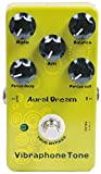 Aural Dream Vibraphone Tone Synthesizer Guitar Effects Pedal with percussion decay and strength module control