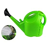PUgarden Thicken Watering Can Plastic Plastic Sprinkler Household Long Mouth Gardening Watering Can Watering Pot Pouring Dual Purpose Elegant Watering Pot