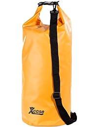 XCASE Pack de 3 sacs fourre-tout étanches - Orange 1XislR5s