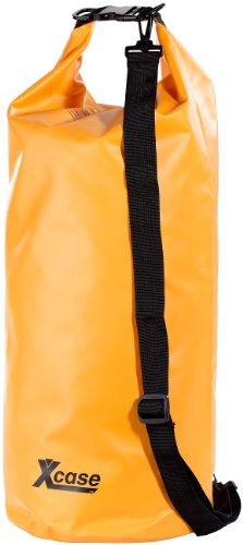 Xcase Motorrad Sack: Wasserdichter Packsack 25 Liter, orange (Gepäckrolle)