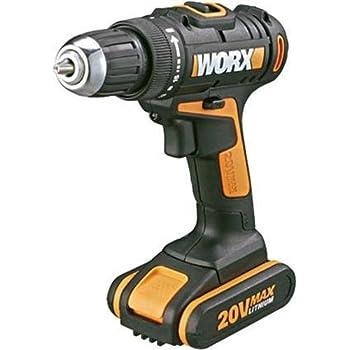 Worx wx166 3 trapano avvitatore 2 batterie 20v 2 0 for Trapano avvitatore parkside 20v recensioni