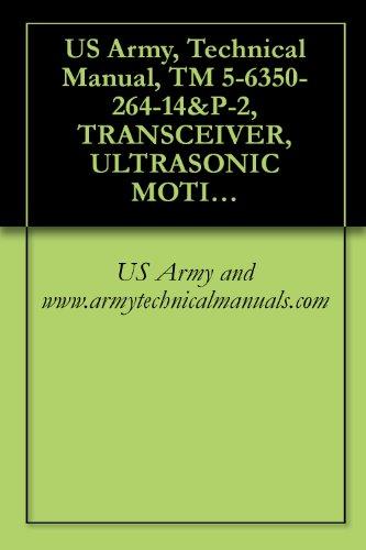 US Army, Technical Manual, TM 5-6350-264-14&P-2, TRANSCEIVER, ULTRASONIC MOTION SIGNAL, RT-1161/FSS-9(V), (NSN 6350-00-228-2566), AND PROCESSOR, ULTRASONIC (English Edition)