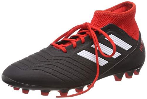 adidas Herren Predator 18.3 AG Fußballschuhe, Schwarz (Negbás/Ftwbla/Rojo 001), 40 2/3 EU