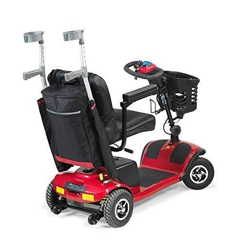 415NwT7uIeL - NRS Healthcare - Sillas de ruedas y accesorios para moto, bolsas y cestas, color negro y borgoña