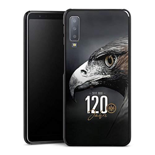 DeinDesign Hülle kompatibel mit Samsung Galaxy A7 (2018) Handyhülle Case Eintracht Frankfurt 120 Jahre Adler