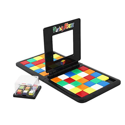 Schimer Rubik 's Race, Rubiks Magic,Tetris Lampe Stapelbare Bausteine Kinder Kinder pädagogische Puzzle Blöcke Tabelle Spiel interaktives Geschenk
