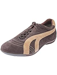 Salt N Pepper SUEDE BLACK BROWN 100% PURE Leather CASUAL Lace Up Shoes For Men
