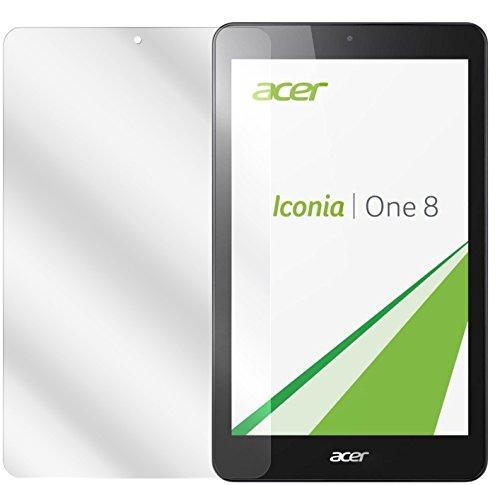 dipos I 2X Schutzfolie klar passend für Acer Iconia One 8 B1-830 Folie Bildschirmschutzfolie
