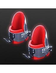 De Luxe - Botas de gravedad para ejercicio, Rouge - Rouge
